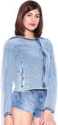 GAS Full Sleeve Solid Women's Quilted Jacket