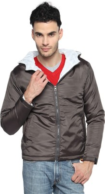 Campus Sutra Full Sleeve Solid Men's Quilted Jacket