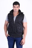 ASST Sleeveless Solid Men's Jacket