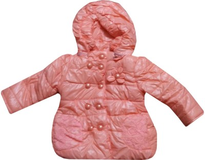 Icable Full Sleeve Applique Girls Jacket