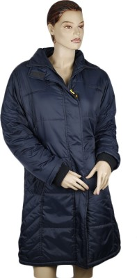 Warmline Full Sleeve Solid Women's Quilted Jacket