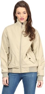 Okane Full Sleeve Solid Women's Jacket at flipkart