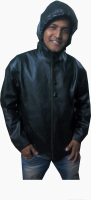 Hydra Full Sleeve Solid Men,s Non-Leather Jacket