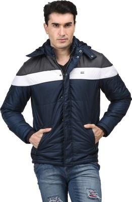 Mettle Full Sleeve Striped Men's Jacket