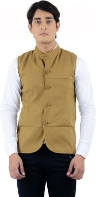American-Elm Sleeveless Solid Men's Jacket