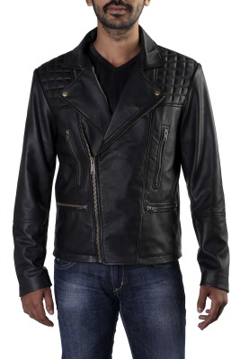 Theo&Ash Full Sleeve Solid Men's Quilted Jacket