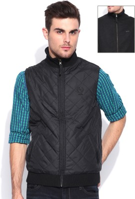 Lee Sleeveless Solid Men's Quilted Jacket