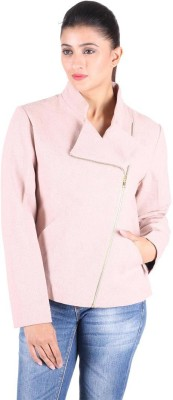 Owncraft Full Sleeve Solid Womens Bomber Jacket