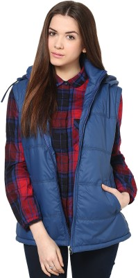Okane Sleeveless Striped Women,s Quilted Jacket