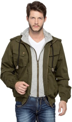 Spykar Full Sleeve Solid Men's Jacket