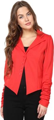 TheGudLook Full Sleeve Solid Women's Jacket