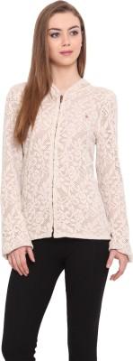 Porsorte Full Sleeve Self Design Women's Jacket