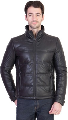 JUSTANNED Full Sleeve Solid Men's Jacket