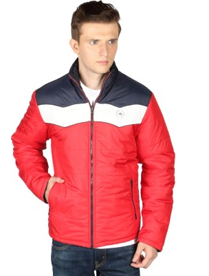 Again Full Sleeve Solid Men's Quilted Jacket