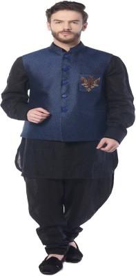 MOHANLAL SONS Sleeveless Self Design Men's Jacket