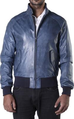 Theo&Ash Full Sleeve Solid Men,s Bomber Jacket