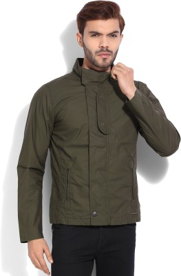 United Colors of Benetton Full Sleeve Solid Mens Jacket