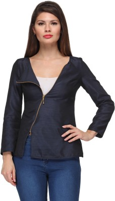 A Click Away Full Sleeve Solid Women's Jacket