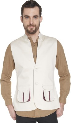 Globus Sleeveless Solid Men,s Jacket