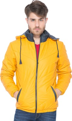 Status Quo Full Sleeve Solid Men's Quilted Jacket