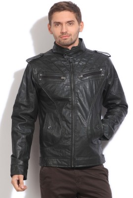 Status Quo Full Sleeve Solid Men's Jacket