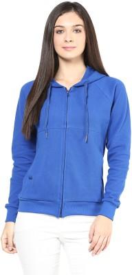 Hypernation Full Sleeve Solid Women's Jacket