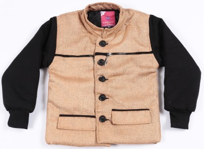 Kangaroo Kids Full Sleeve Solid Boy's Jacket