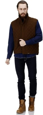 Bareskin Sleeveless Solid Men,s Jacket