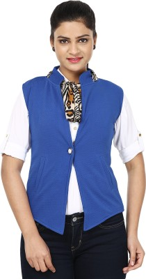 Henry Club Sleeveless Solid Women's Jacket