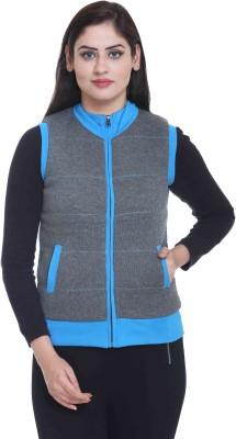 CLUB YORK Sleeveless Solid Women's Jacket