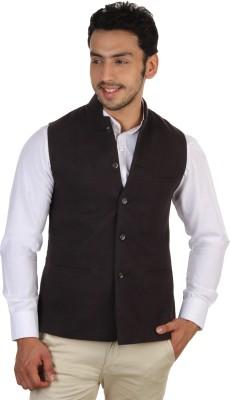 Platinum Studio Sleeveless Solid Mens Nehru Jacket