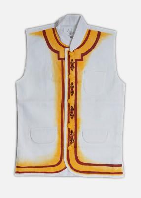Rangrage Sleeveless Solid, Self Design Boy's Padded Jackets Jacket