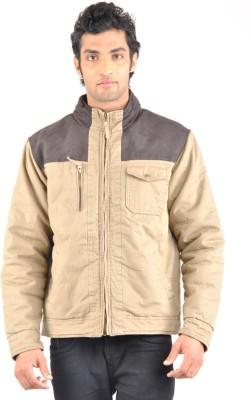 Truccer Basics Full Sleeve Solid Men's Slim Fit Cotton Winter Jacket