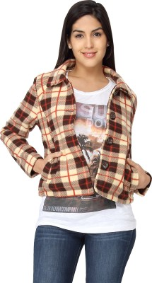 American Laundry Full Sleeve Checkered Women's Jacket
