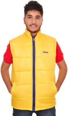 Frostini Sleeveless Solid Men's Quilted Jacket