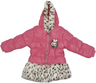 Addyvero Full Sleeve Animal Print Girl's Jacket