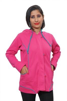 Indiatrendzs Full Sleeve Solid Women's Jacket