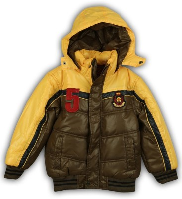 Lilliput Full Sleeve Solid Boy's Jacket