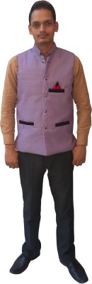 Flair Sleeveless Solid Men's Jacket