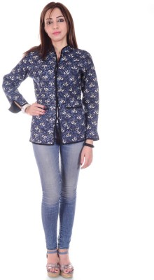 Om Prints Full Sleeve Printed Women's Jacket