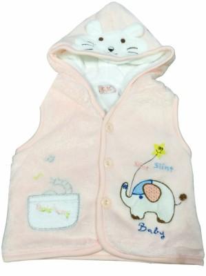 Camey Sleeveless Animal Print Baby Boy,s, Baby Girl's Jacket