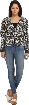 Prakum Full Sleeve Printed Womens Bodyco...