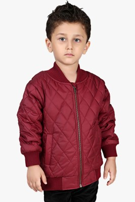 Beebay Full Sleeve Solid Baby Boys Quilted Jacket