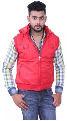 Austrich Sleeveless Solid Men's Jacket