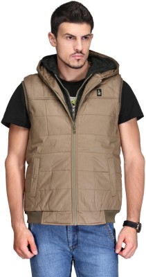 Canary London Sleeveless Solid Men's Quilted Jacket