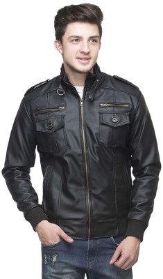 GoCartz Full Sleeve Solid Men's Jacket