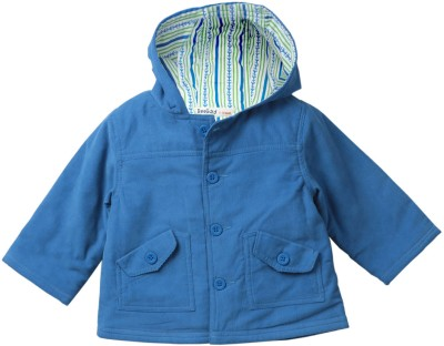 Beebay Full Sleeve Solid Baby Boys Shell Jacket