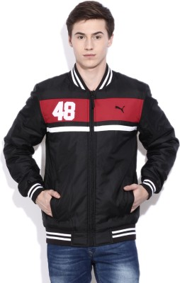 Puma Full Sleeve Striped Mens Jacket
