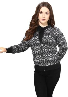 JR,S Full Sleeve Printed Women's Jacket
