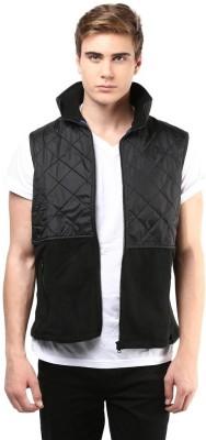 The Vanca Sleeveless Self Design Men's Jacket
